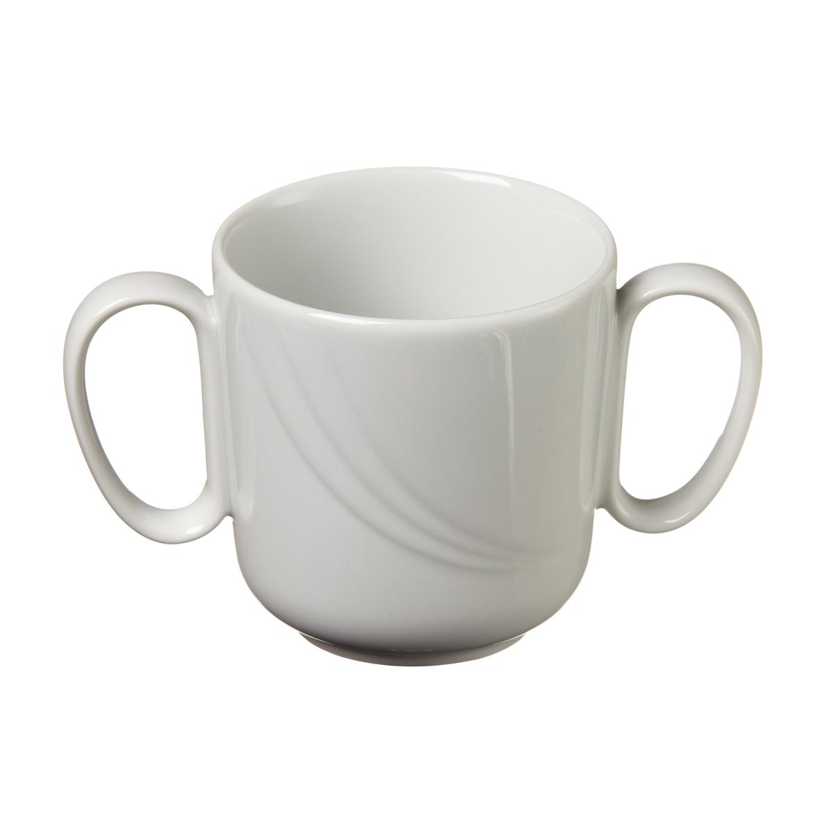 tasse mug bouillon senior en porcelaine 2 anses 30 cl mjpro restauration collective. Black Bedroom Furniture Sets. Home Design Ideas