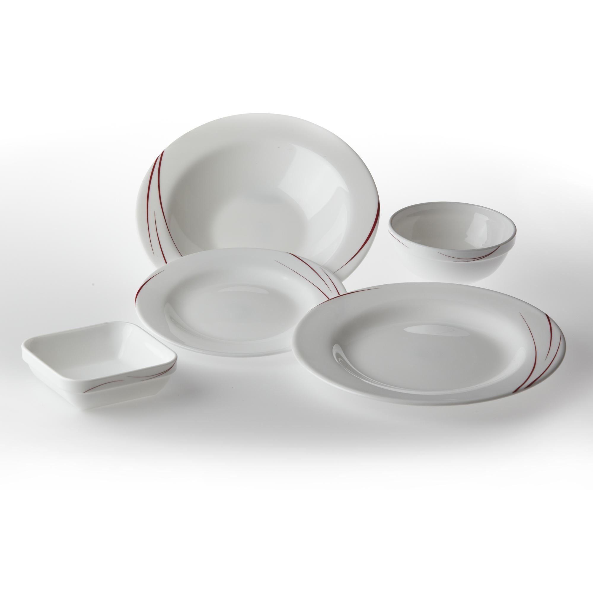 Assiette plate en verre trempé verte 24cm Toronto Eden