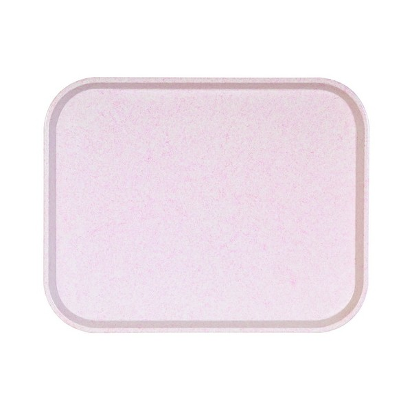 Plateau ECO POLY ONE - Nuage Rose -  460 x 360 mm - Réf. 473250 - Illustration n°1