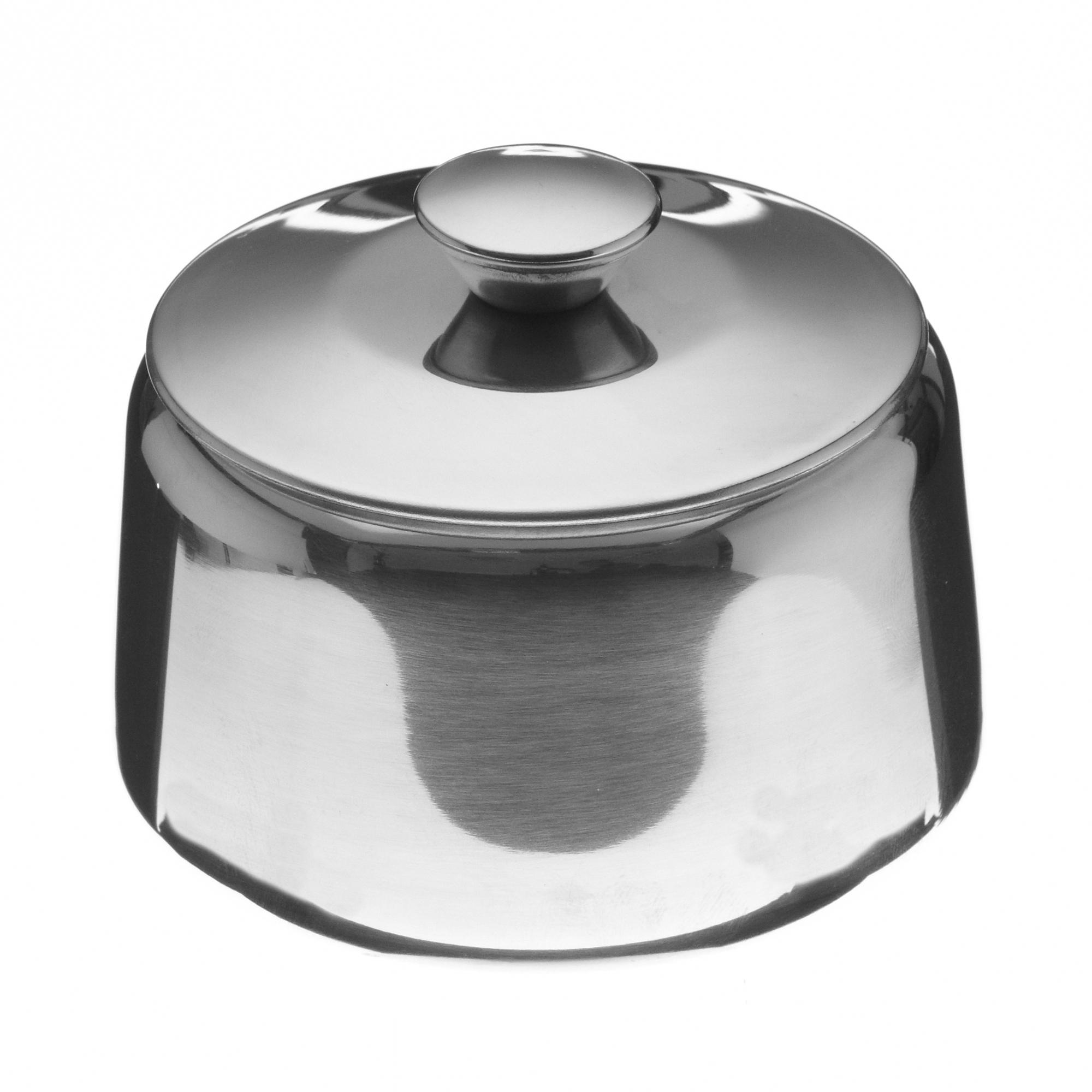 Sucrier en inox avec couvercle 23 cl mjpro for Equipement cuisine collective