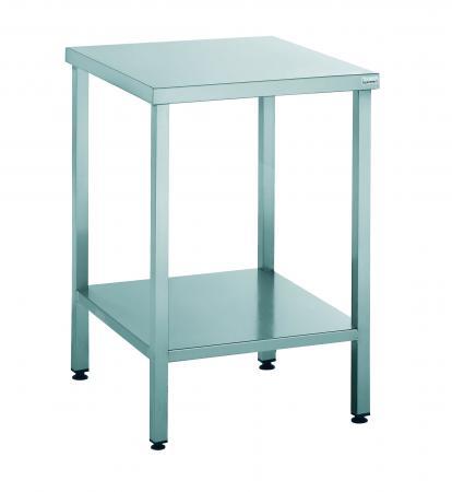 table support machine 60x60 cm en inox mjpro restauration collective equipement. Black Bedroom Furniture Sets. Home Design Ideas