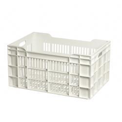 caisse plastique ajour e 15 l 60x40x8 cm mjpro restauration collective equipement. Black Bedroom Furniture Sets. Home Design Ideas