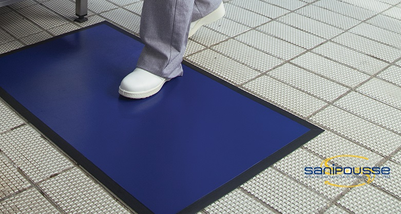 Tapis de décontamination 100 x 60 cm - Clean Foot