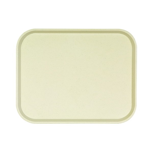Plateau ECO POLY ONE - Cornet Vanille -  460 x 360 mm