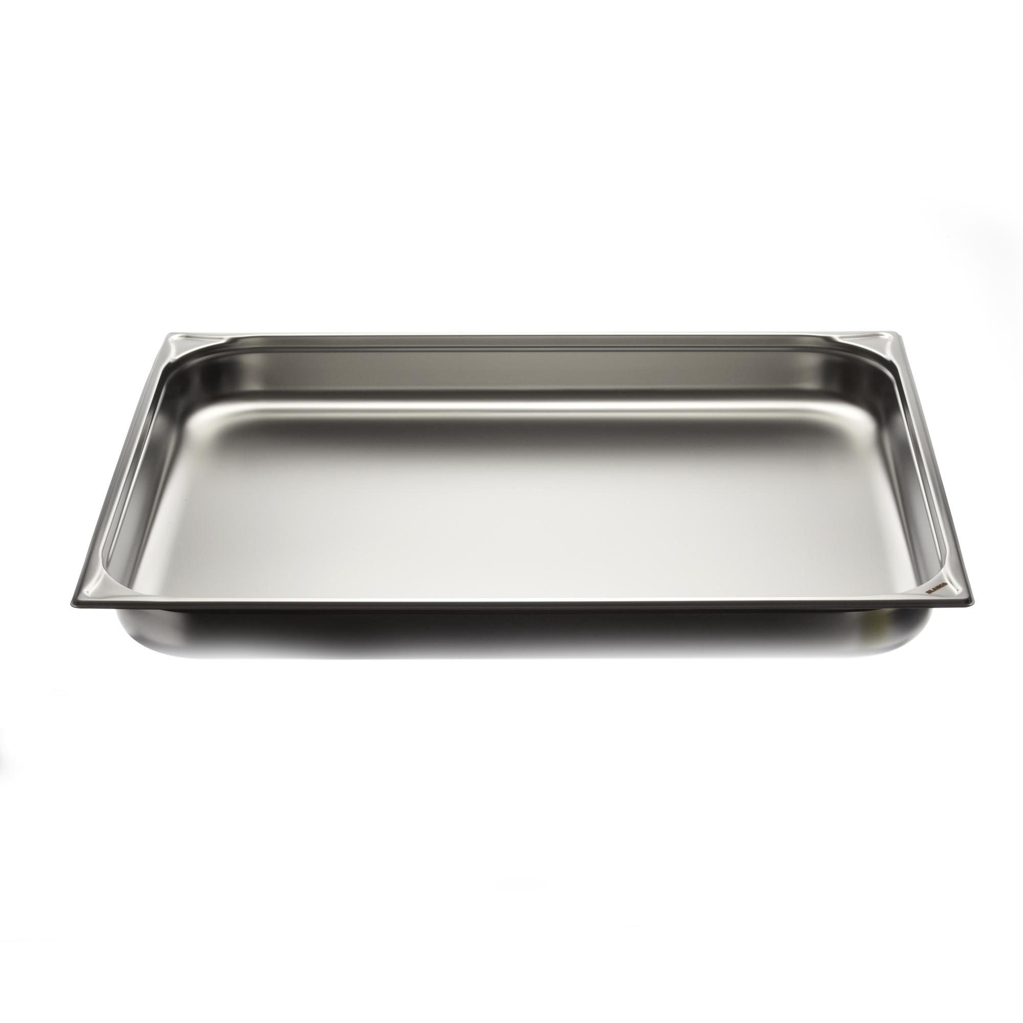 Couvercle de bac plat inox premium gn 2 1 mjpro for Bac cuisine inox